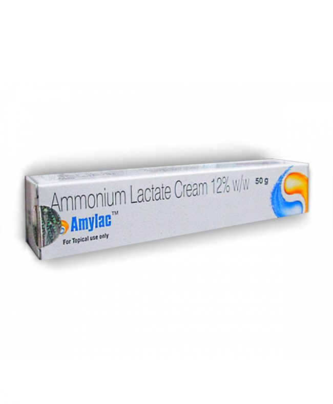 Amylac Cream – Ammonium Lactate 12% by Sun Pharma