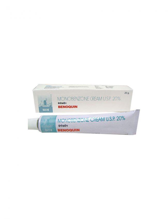 Benoquin Cream Monobenzone 20%