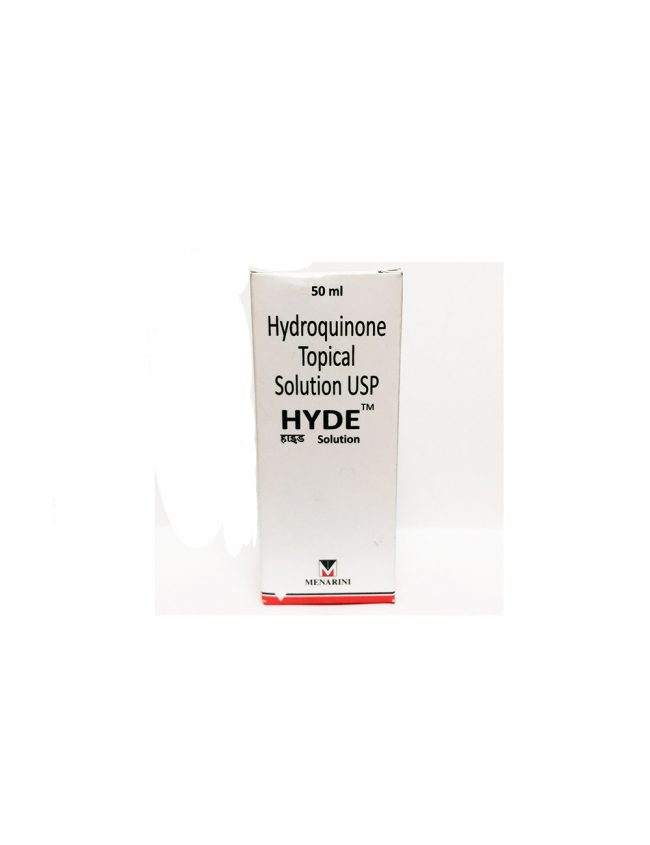 HYDE Hydroquinone 5% Solution USP Topical 5