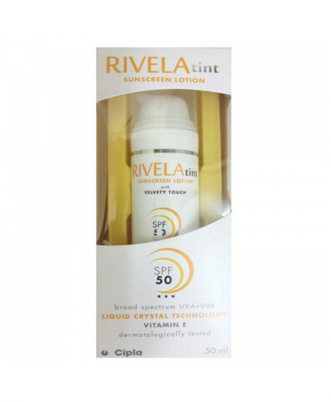 RIVELA Tint Sunscreen Lotion 50ml by Cipla