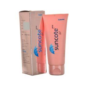 Suncote Sunscreen Gel 100g by Curatio Pharma