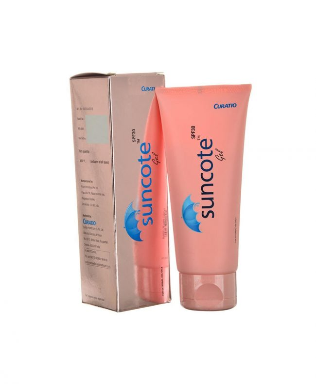 Suncote Sunscreen Gel 100g by Curatio Pharma