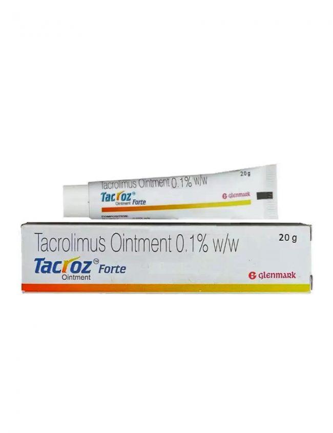 Tacrolimus Ointment 0.1% (Tacroz Forte)