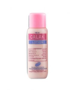 calamine lotion acne