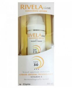 rivela tint sunscreen lotion